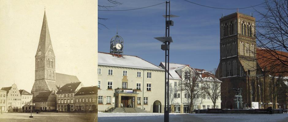 Nikolaikirche - früher und heute
