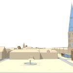 geplant 3D Bild Markt