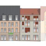 Fassadenansicht Keilstraße 1